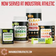 In addition to all of the high performance sport gear or functional fitness equipment you can dream of, we now proudly stock a small range of Nuzest supplement products.  Nuzest are premium nutritional supplements and base everything they create off the latest scientific research.    You can purchase Clean Lean Protein in powder or bars, Good Green Stuff, and SOS hydration from Industrial Athletic now, cheaper than the majority of health supplement stores online. Fitness Equipment, No Equipment Workout, Supplements Online, Lean Protein, Green Cleaning, Nutritional Supplements, Superfood, Feel Good, Dairy Free
