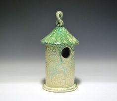 Gorgeous birdhouse by Miki Shim-Rutter