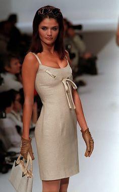Helena Christensen - Valentino Spring/Summer 1996
