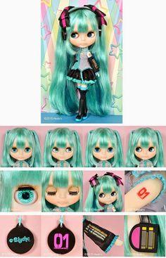 New Neo Blythe Vocaloid: Hatsune Miku