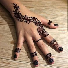121 Simple mehndi designs for hands All Mehndi Design, Back Hand Mehndi Designs, Mehndi Designs For Girls, Mehndi Designs For Beginners, Eid Mehndi Designs, Modern Mehndi Designs, Mehndi Designs For Fingers, Mehndi Design Photos, Unique Mehndi Designs