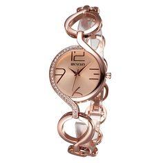 WEIQIN 2062 Women Quartz Watch Retro Elegant Big Number Rhinestone Dial Bracelet Watches at Banggood Body Jewelry, Jewelry Sets, Jewelry Watches, Women Jewelry, Rose Gold Watches, Quartz Watches, Pendant Earrings, Luxury Watches, Bracelet Watch