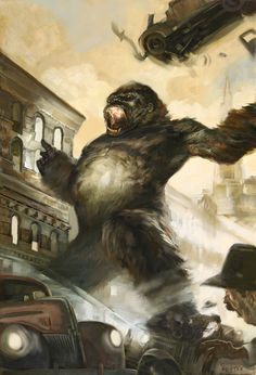 King Kong by Jon Foster