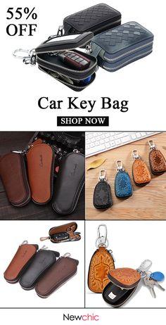 Car accessories for guys. Car Accessories For Guys, Bohemian Accessories, Men's Accessories, Polo Lacoste, Leather Key Case, Leather Bag, Key Bag, Man Purse, Car Keys