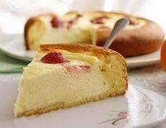 Быстрый творожный пирог-ватрушка. Рецепт
