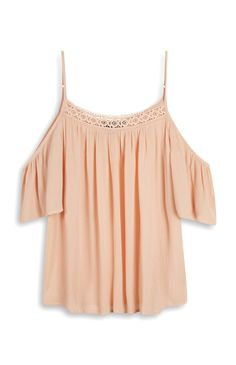 Primark - Blush Off Shoulder Blouse £8