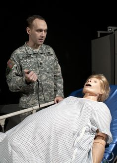 """""""A second chance at life: Simulation center offers unique training environment"""" via Soldiers Live: In the operating rooms at the Uniformed Services University of the Health Sciences' medical simulation center, everyone gets a second chance at life. Army Tech, Second Chances, Soldiers, Environment, University, Medical, Training, Rooms, Science"""