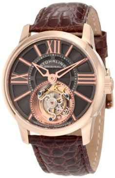 Stuhrling Original Men's 296D.334X54 Tourbillon Viceroy Tourbillon Limited Edition Mechanical Brown Watch Stuhrling Original $639.99 & FREE Shipping.