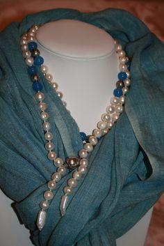 perle di fiume agata argento