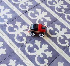 french antiquity tile backsplash on a home depot budget home