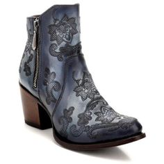 50663ec33f4 Women s Cuadra Denim Bovine Leather Boots Handcrafted