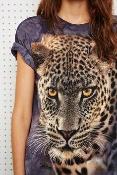 The Mountain Cheetah Tee at Urban Outfitters