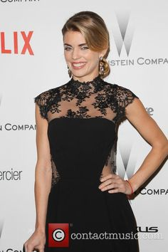 AnnaLynne McCord Wearing GEMY MAALOUF in Weinstein Company and Netflix Golden Globes Party, Los Angeles, January 11, 2015.  Contactmusic.com