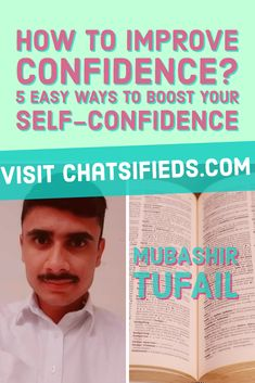 Most of us want to improve our confidence. So how to Improve Confidence? 5 easy ways which I used to boost my own self confidence. Improve Self Confidence, Confidence Boosters, Confidence Tips, Self Fulfilling Prophecy, Motivational Stories, Knowledge And Wisdom, Negative Thoughts, Body Language, Body Image