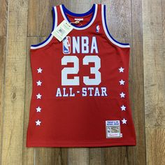 5bbdd1adf 100% Authentic Mitchell  amp  Ness Jersey Retail Price  250 Size 44    Large