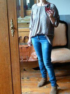 """blouse modèle D """"Tuniques pour petits et grands"""""""