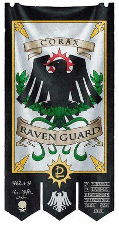 Raven Guard Banner