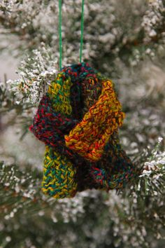 DIY Jesse Tree Advent Calender, Day 7 Joseph's coat of many colors, ideas and how to