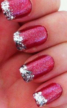 Christmas nail art ... mmmm .... I need nails first though ;)