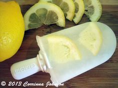 Make Lemonade Popsicles In The Zoku Quick Pop Maker