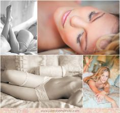 Boudoir inspiration by Julie Roberts Photography at Castleton Farms with Bangs and Blush on hair and make-up