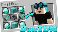 Minecraft - How to Summon DanTDM in a Crafting Table!