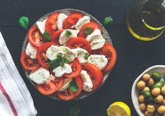 Veganer Cashew Mozzarella