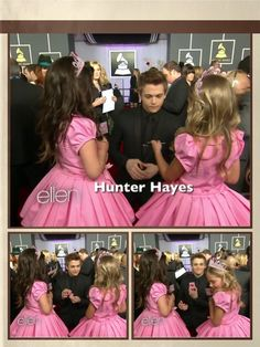 Hunter with Sophia Grace and Rosie :) (Sophia and Rosie, my new adopted girlsXD)