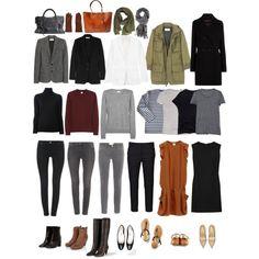 """Capsule wardrobe"" by eizhowa on Polyvore"