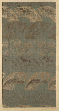 Piece  Date: 18th–19th century Culture: Japan Medium: Silk Dimensions: 12 1/4 x 6 1/4 in. (31.11 x 15.88 cm)