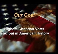 I think it is the responsibility of Christians  to vote for the candidates that demonstrate biblical principles.  Please do not forget to pray  and ask for guidance in this important act.