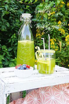 Ingwer-Basilikum-Limonade; ausprobiert; Fazit: super lecker - besonders mit einem guten Schuss Vodka