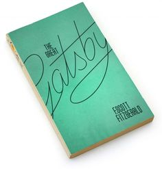 great gatsby book cover   Make a road out of the lettering