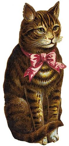 Free Victorian Cat Graphics | Creative: Free Printables ...