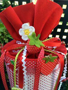 Erdbeertraum - Schultüte/ Zuckertüte von XBergDesign2 auf DaWanda.com