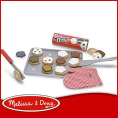 【Melissa&Doug】 〈 【Melissa&Doug】〉スライス&ベイク クッキーセット おままごと 木製 カッティング(Slice and Bake Cookie Set)【楽天市場】