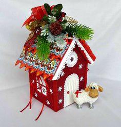 Gallery.ru / Фото #29 - Новый год 2015 - iraida60 Christmas Hearts, Christmas Bird, Christmas Makes, Christmas Candy, Homemade Christmas, Holiday Ornaments, Christmas Decorations, Xmas, Holiday Decor