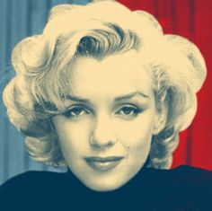 Pop Art Color Scheme CS01: Marilyn Monroe
