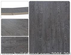 BuildDirect: Laminate Flooring 12mm Collection    Charleston Grey