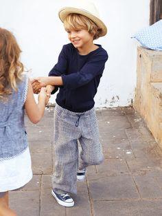 Schnittmuster: Hose - Leinen - Jungen - Gr. 92 - 188 - Kinder - burda style