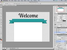 SillyGrrl.com // Nerd Party: Creating a Banner in Photoshop