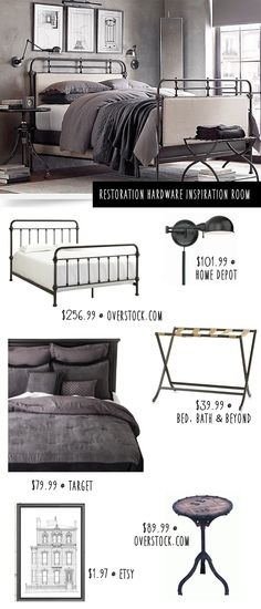Restoration Hardware Bedroom: Get The Look for Less | Money Saving Sisters