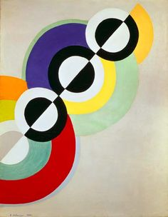 Robert Delaunay - Prisms. 1934