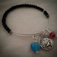 B03-21 What's Your Sign? Memory Wire Zodiac Bracelets
