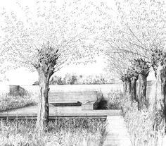Tom Stuart-Smith - The Laurent-Perrier Garden 2001.