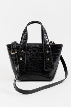 Claire Croc Mini Handbag Mini Handbags, Black Handbags, Crocs, Claire, Accessories Shop, Eid, Rebecca Minkoff, Searching, Kicks