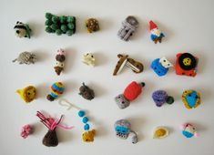 Tiny things- I would never buy or want one but these are just too fun to look at.