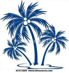 Silhouette Palm trees View Large Illustration Palm Tree Clip Art 41ebfab54bd