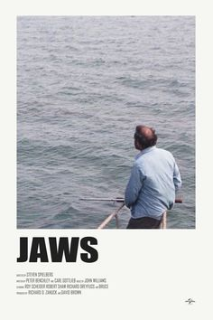 Jaws movie cool fan poster-cover art find