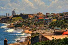 San Juan and La Perla  puerto rico